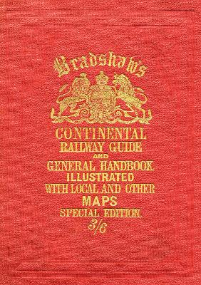 Bradshaw's Continental Railway Guide full edition book
