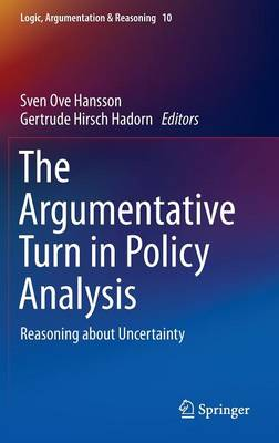 Argumentative Turn in Policy Analysis by Sven Ove Hansson