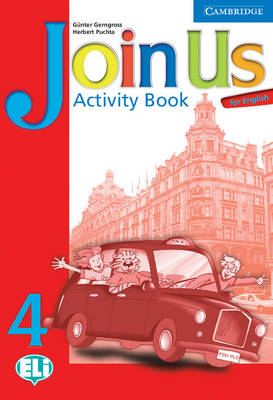 Join Us for English 4 Activity Book book