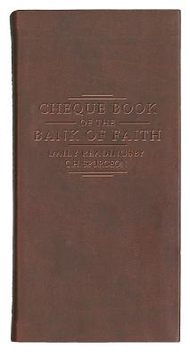 Chequebook of the Bank of Faith - Burgundy by C. H. Spurgeon