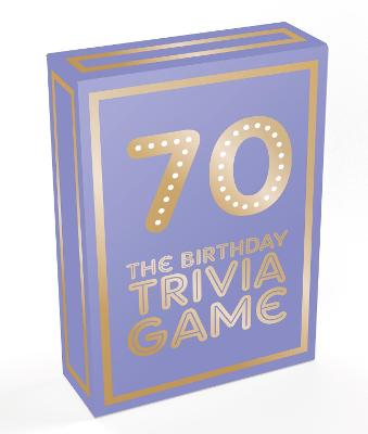 70: The Birthday Trivia Game by Summersdale Publishers
