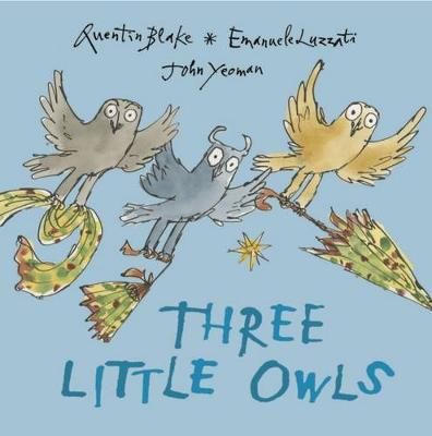 Three Little Owls by Quentin Blake