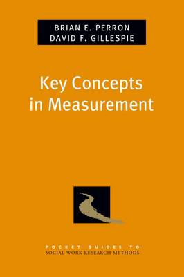 Key Concepts in Measurement by David F. Gillespie