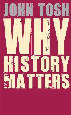 Why History Matters book
