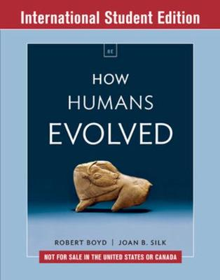 How Humans Evol 8E ISE Pa W/Ei by Robert Boyd