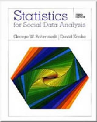 Statistics for Social Data Analysis by David H. Knoke