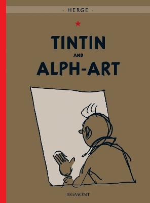 Tintin and Alph-Art book