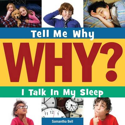 I Talk in My Sleep book