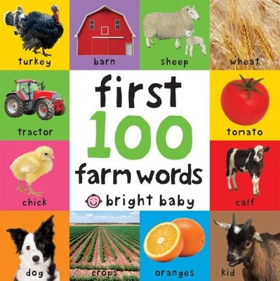 First 100 Farm Words by Roger Priddy