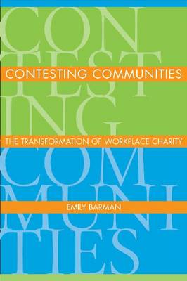 Contesting Communities by Emily Barman