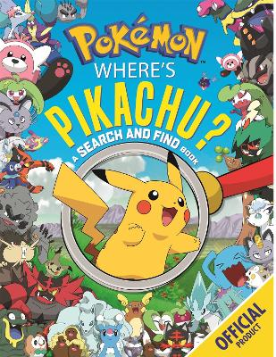 Where's Pikachu? A Search and Find Book: Official Pokemon book