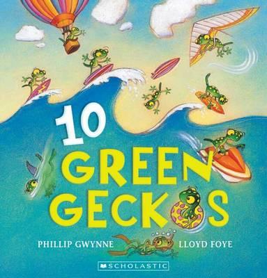 10 Green Geckos book