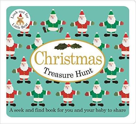 Christmas Treasure Hunt: Baby Treasure Hunts by Roger Priddy