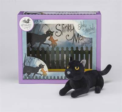 Slinky Malinki Book & Toy Set by Lynley Dodd