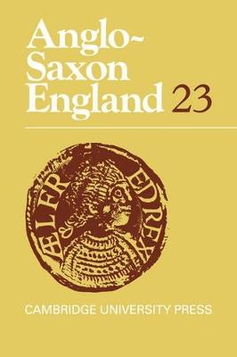 Anglo-Saxon England book