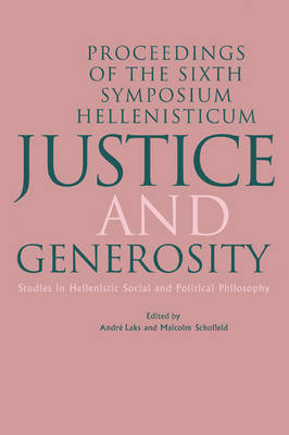 Justice and Generosity book