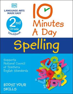 10 Minutes a Day Spelling, 2nd Grade by Carol Vorderman