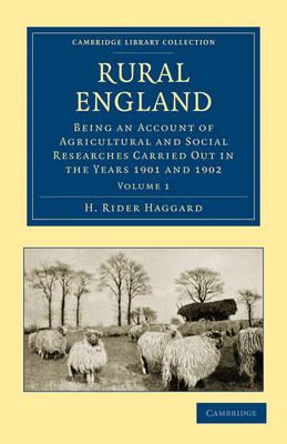 Rural England by H. Rider Haggard