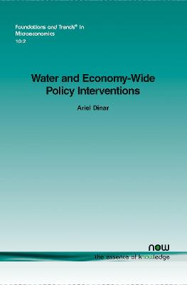 Water and Economy-Wide Policy Interventions by Ariel Dinar