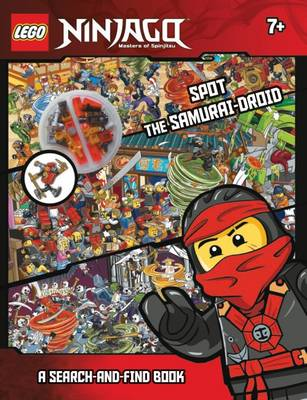 LEGO Ninjago Spot the Samurai-Droid A Search-and-Find Book by