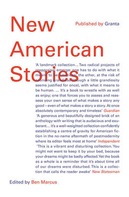 New American Stories by Ben Marcus