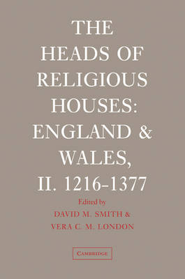 The Heads of Religious Houses book