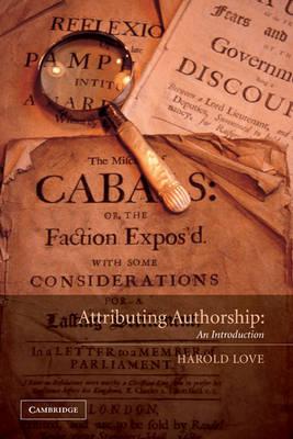 Attributing Authorship book