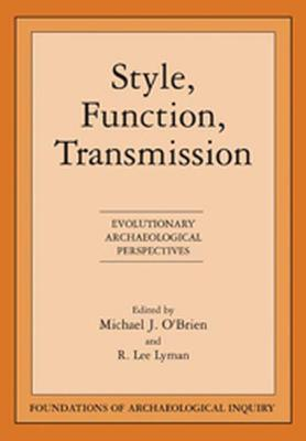 Style Function Transmission by Michael J O'Brien