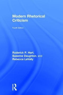 Modern Rhetorical Criticism by Roderick P. Hart
