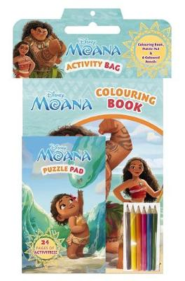 Disney Moana: Activity Bag book
