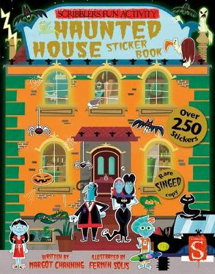 Scribblers Fun Activity Haunted House Sticker Book book