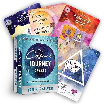 The Cosmic Journey Oracle: A 55-Card Deck and Journaling Guidebook by Yanik Silver