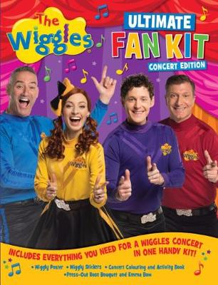 Wiggles Ultimate Fan Kit Concert Edition book