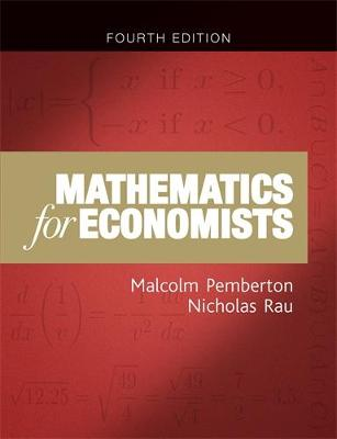 Mathematics for Economists by Malcolm Pemberton