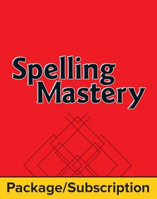 Spelling Mastery Level F Teacher Materials Package, 3-Year Subscription by McGraw Hill
