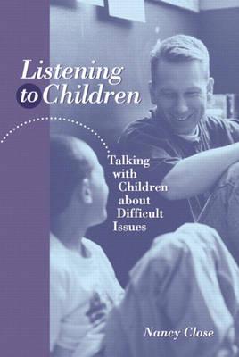 Listening to Children book