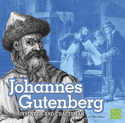 Johannes Gutenberg by Mary Boone