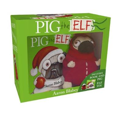 Pig the Elf Mini HB + Plush by Aaron Blabey