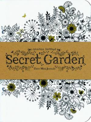 Secret Garden: Three Mini Journals by Johanna Basford