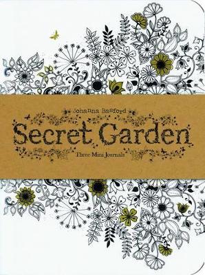 Secret Garden: Three Mini Journals by Johanna Basford