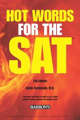 Hot Words for the SAT Ed by Linda Carnevale