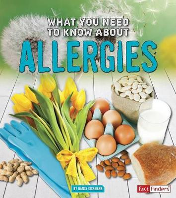 What You Need to Know about Allergies book