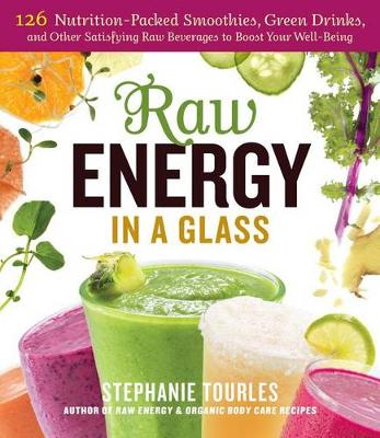 Raw Energy in a Glass by Stephanie Tourles
