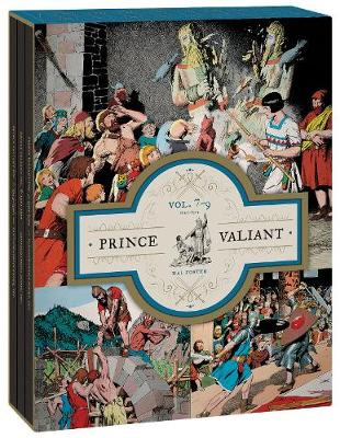 Prince Valiant Vols. 7-9 Gift Box Set by Hal Foster