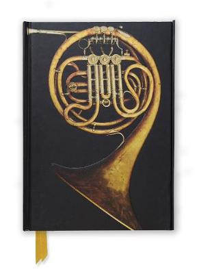 French Horn (Foiled Journal) by Flame Tree