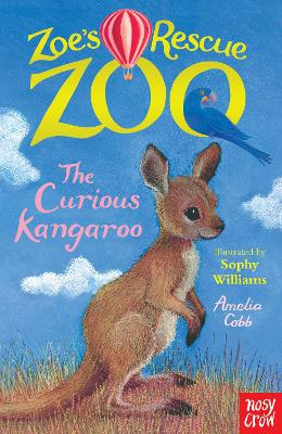 Zoe's Rescue Zoo: The Curious Kangaroo by Amelia Cobb