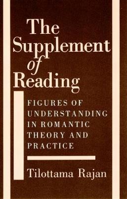 Supplement of Reading by Tilottama Rajan