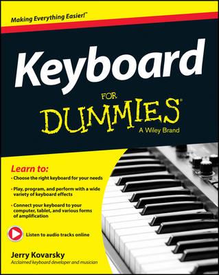 Keyboard For Dummies by Jerry Kovarsky