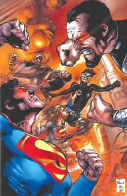 Superman VS Zod TP book