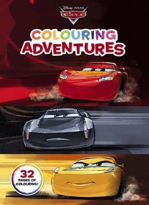 Disney: Cars Colouring Adventures book